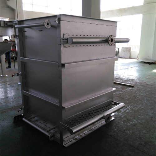 粉体流冷却器制造工艺及工作原理