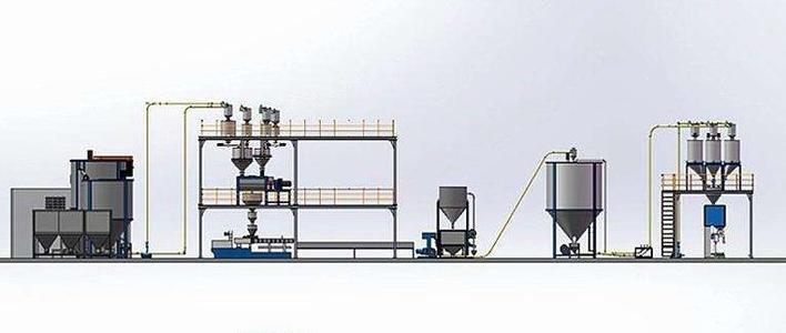 江苏开炼机自动翻胶配料系统厂家