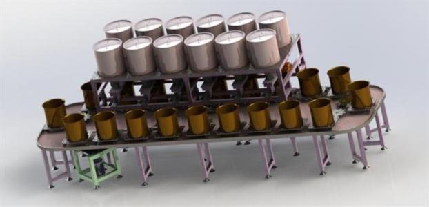 信阳自动配料系统厂家