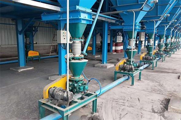 粉体物料输送设备基本类型与厂家推荐